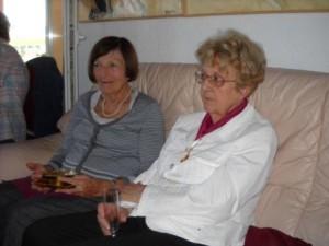 Mme Gilberte LOISON et Mme Monique FAOUEN