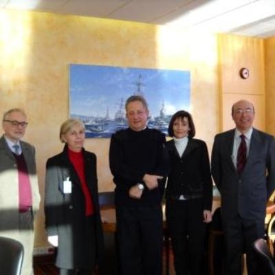 Rencontre avec le Préfet Maritime – 13 janvier 2010