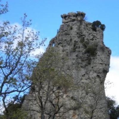 Randonnée Course d'Orientation des Toulonnais Siou Blanc 15 avril 2012