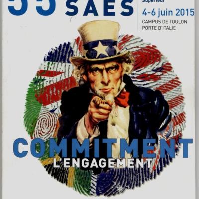 55ème Congrès de la Société des Anglicistes de l'Enseignement Supérieur Toulon 4 – 6 juin 2015
