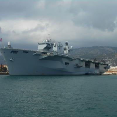 RÉCEPTION  COMMANDANT HMS OCEAN 6 octobre 2015