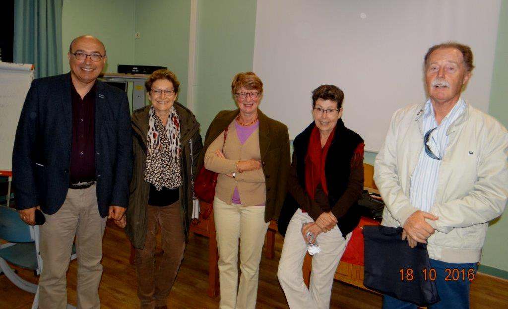 Bernard SASSO ; Martine AGIUS ; Annie FILLON ; Catherine PAPPO ; Richard WHITING