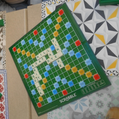 SCRABBLE ANGLAIS 21 avril 2018