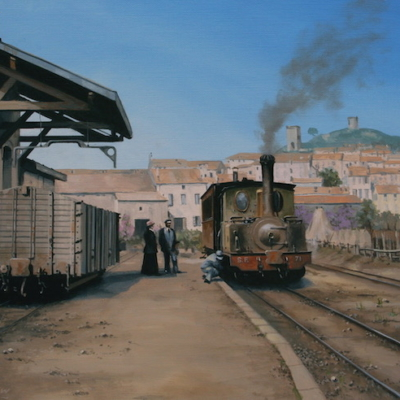 """                      Two cultures by Train""                                     Chris LUDLOW 16 janvier 2020"